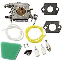 AISEN Carburetor Air Filter Gasket Primer Bulb Fuel Line for Poulan Chainsaw 1950 2050 2150 2375 62 1975 1900 2075