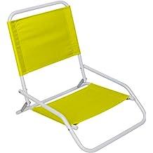Trademark Innovations CHR-F2060-LTGR Sand Chair Beach Chair, Light Green