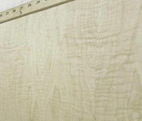 Curly Figured Tiger Maple wood veneer 24