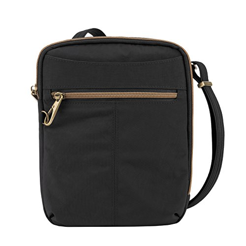 Travelon Anti-theft Signature Slim Day Bag, Black]()