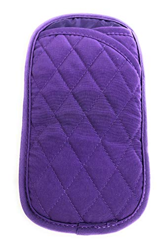 Vera Bradley Double Eye Glasses Case Elderberry
