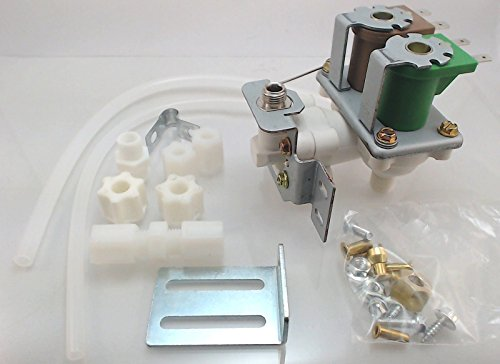 Supco WV8046 Replacement Icemaker Dual Solenoid Water Valve for Whirlpool Icemakers (Universal Refrigerator Ice Maker compare prices)