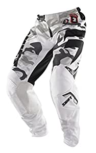 Shift Racing Strike Brigade Men's Off-Road/Dirt Bike Motorcycle Pants - Snow Camo / Size 36