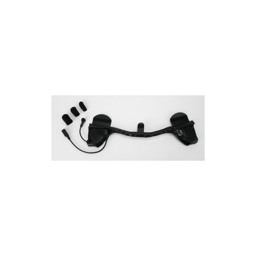 J&M HS-284 Headset With HO Mike for Shorty-Style 1/2 Helmet HS-ICD284-HHU-H