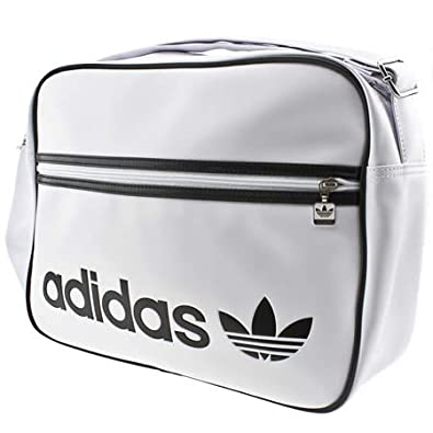 d6e067813672 Adidas Adicolor Airline - Unknown - White   Black - Man Made  Amazon.co.uk   Shoes   Bags