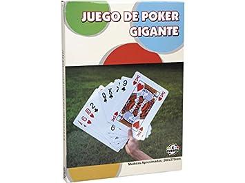 XTURNOS Cartas De Poker Gigantes 260x370 cm.