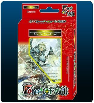 Force Of Will Arla The Winged Lord (Light) FOW Alice Cluster Twilight Wanderer Starter Deck - 51 Cards - Starter Deck Light