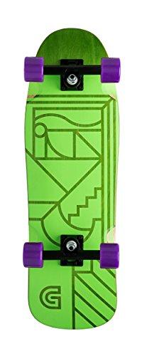 GOLDCOAST Track Cruiser Skateboard Complete (Gold Coast Skateboard)