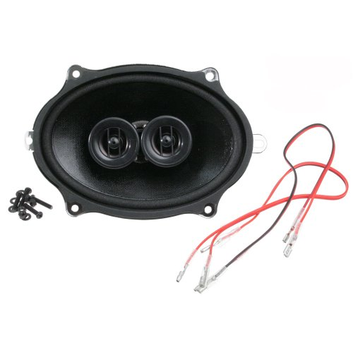 Hook Up Dual Voice Coil - MUSTANG CUSTOM AUTOSOUND DASH SPEAKER DUAL VOICE COIL 1967-1973