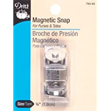 Dritz Magnetic Nickel Snap, 3/4-Inch