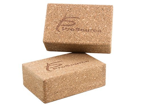 ProSource Cork Yoga Blocks (Set of 2), 9
