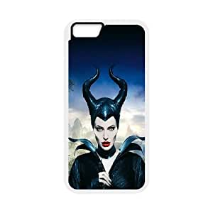 Angelina Jolie iPhone 6 4.7 Inch Cell Phone Case White CVXEYERTE00943 Plastic DIY Cell Phone Case