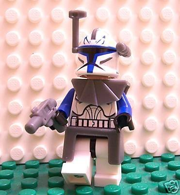 Lego Star Wars Clone Wars Captain Commander Rex Mini Figure with Armor