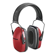 Honeywell RWS-53006 Low Profile Earmuff (Red)