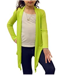 Dinamit Jeans Big Girls' Long Sleeve Flyaway Cardigan Sweater