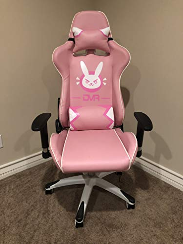 Overwatch D Va Dva Bunny Gaming Computer Swivel Chair Pink Buy Online In Uae Furniture