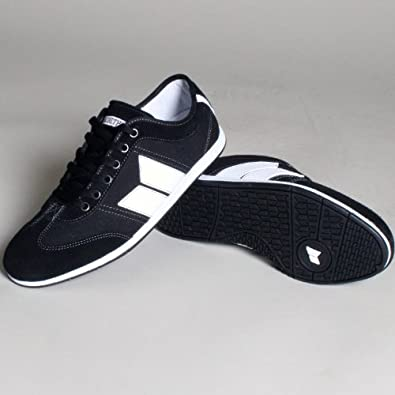 Macbeth Brighton Shoes Black/White