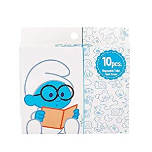 The Smurfs Disposable Paper Toilet Seat Covers - Box of 10 Pcs (Pack of 3)