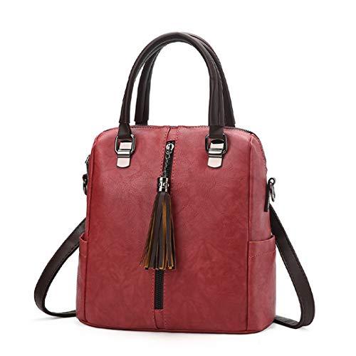 en Sentsreny dames pour multi de messenger bandoulière Sacs sacs luxe sacs cuir dos rétro Pink sac à main à à sac les femmes Hot usages nYrYCtF7x