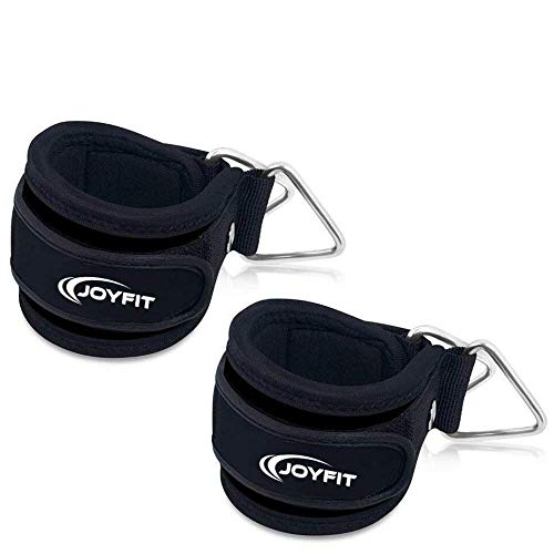 JoyFit – Ankle Straps with Pad and Ring for Cable Machine, Gym, Legs, Butt, Glute Exercises for Men and Women Price & Reviews