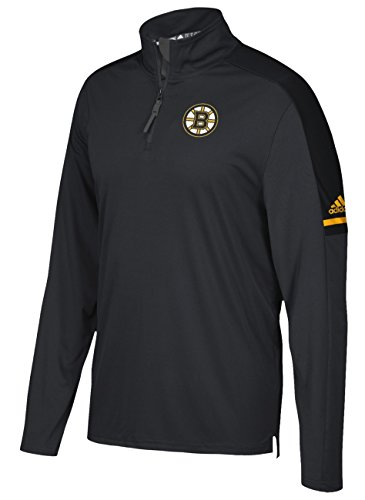 Boston Bruins Adidas NHL Men's 2017 Authentic Pro 1/4 Zip Wind Shirt – DiZiSports Store