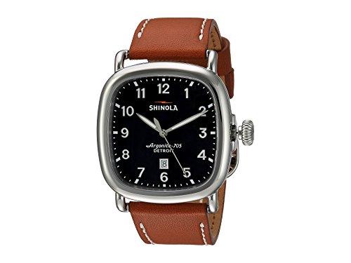 Shinola Men's The Guardian 41mm Watch, Tan/Cool Grey, One Size