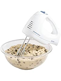 Hamilton Beach 62682RZ Hand Mixer with Snap-On Case, White
