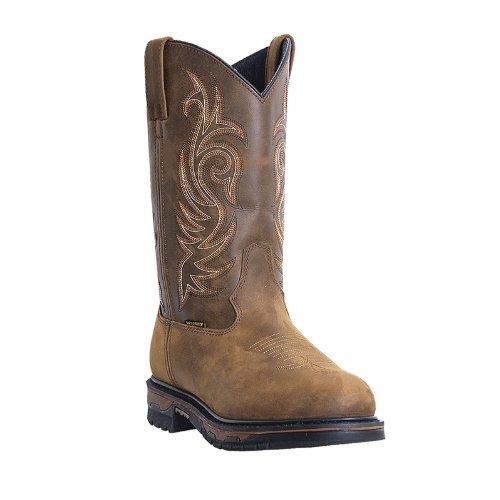 (Laredo Men's Hammer Steel Toed Work Shoe,Tan,11 D US)