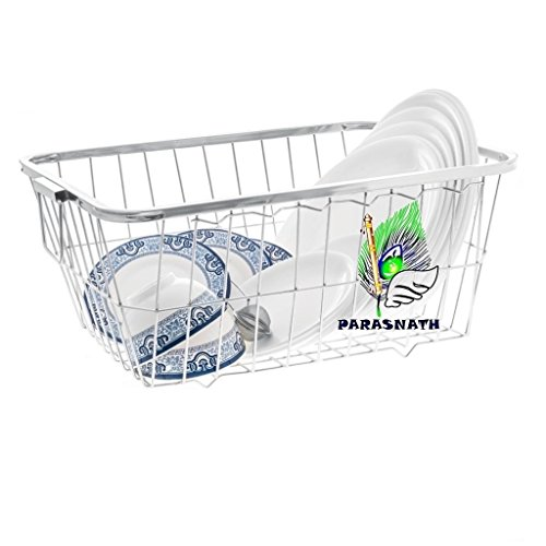 PARASNATH Stainless Steel Dish Drainer N0.3 Tokra Large (60 Cm X 48 Cm X 18 Cm) Price & Reviews