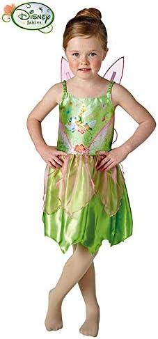 DISBACANAL Disfraz Campanilla Tinker Bell niña - -, 5-6 años ...