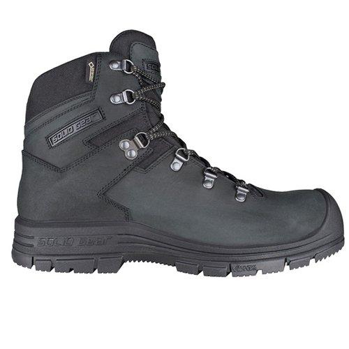 Solid Gear sg7500237Scarpe di sicurezza Bravo GTX dimensioni 37Nero