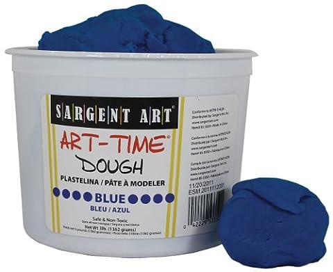 Sargent Art 85-3350 3-Pound Art-Time Dough, Blue (Playdoh People)