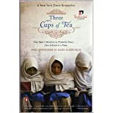 Book cover for Three Cups of Tea