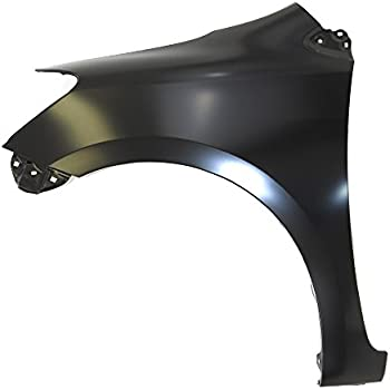 Titanium Plus Autoparts 2007-2012 Fits For Toyota Yaris Front,Left Driver Side FENDER SEDAN WITHOUT SIDE LAMP HOLE