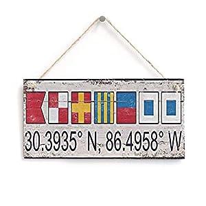 41pmSPJnxYL._SS300_ Nautical Wooden Signs & Nautical Wood Wall Decor