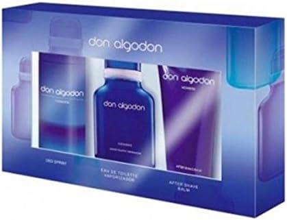 Don Algodon, Set de fragancias para hombres - 1 unidad: Amazon.es: Belleza