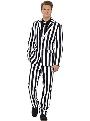 Striped Tailored Suit - Smiffys Humbug Suit