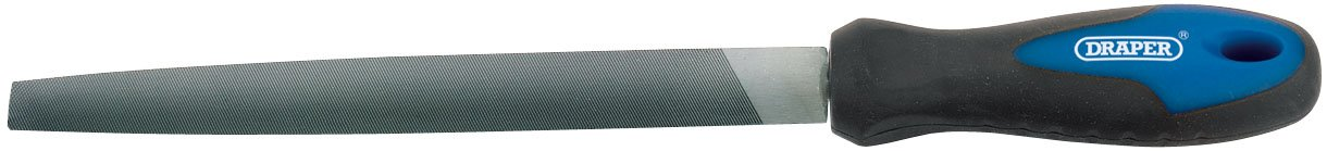 Draper 44957 200mm Three Square File and Handle