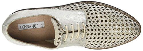 Zapatos Cordones Ghiaccio PIU Donna Derby para Mujer Argent Osso Ruby de 003 OxEwxfn