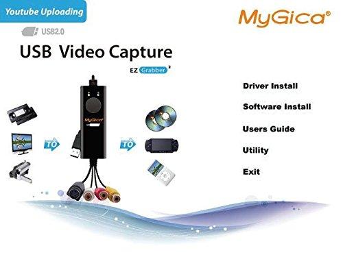 mygica ez grabber box usb scheda acquisizione  MyGica USB Grabber Video Box Scheda Acquisizione Video per Passare ...