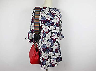 2 Wide,35-52 Long VanEnjoy Purse Strap Replacement Multicolor Nylon Aajustalble Crossbody Bag Straps for Handbags