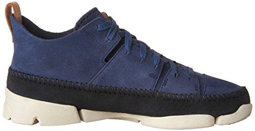 Sneakers Sneakers In Pelle Scamosciata Uomo Clarks Blu