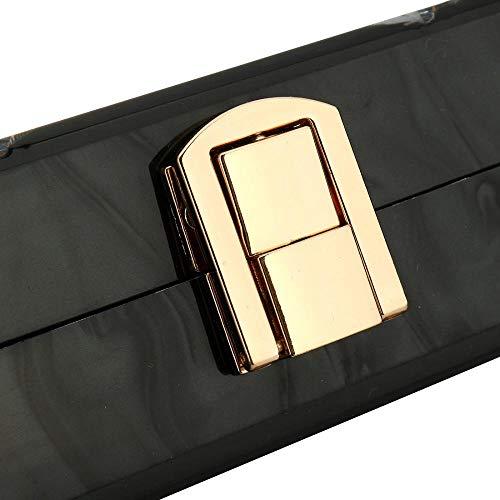 Silver Taille Argent pour Pochette Unique MANYYSI Femme Or w6qOpIz