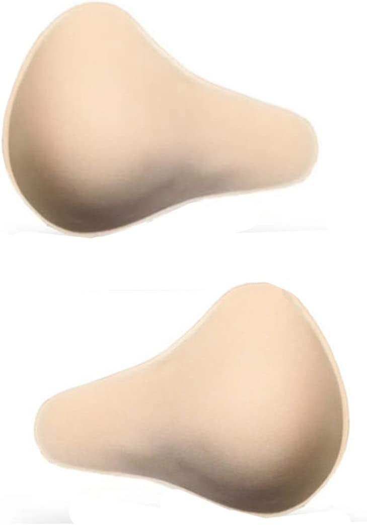 1 Pair Cotton Breast Forms Light Ventilation Sponge Boobs for Women Mastectomy Breast Cancer Support by Ninery Ave