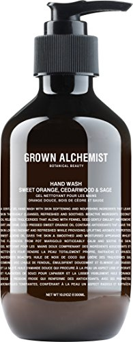 Sweet Orange, Cedarwood & Sage Hand Soap, Grown Alchemist