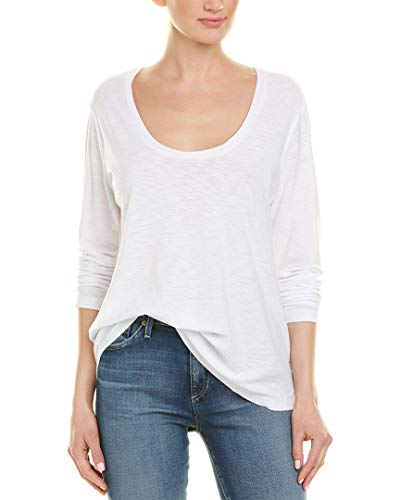 James Perse Womens Solid T-Shirt, 2, ()