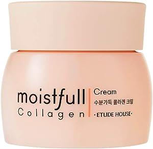 ETUDE HOUSE Moistfull Collagen Cream 75ml (New Version) | Facial Moisturizing Cream with Collagen for Women Skin Care