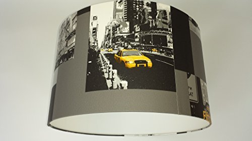 lampshade4room Abat-jour New York taxi jaune 30 cmFait main ...