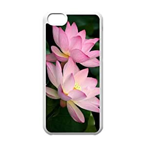 linJUN FENGProtection Cover Hard Case Of Water Lily Cell phone Case For iphone 6 plus 5.5 inch