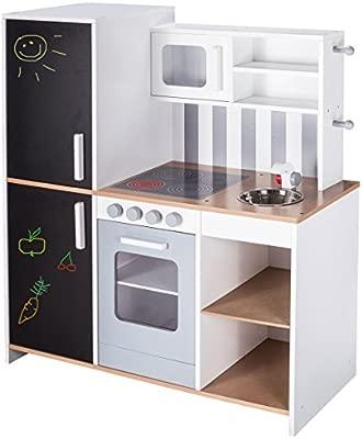 Roba de cocina infantil madera - Cocina de juguete (con ...